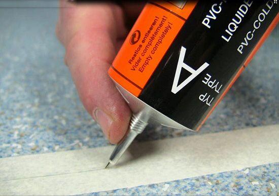 Как пользоваться холодной сваркой для линолеума