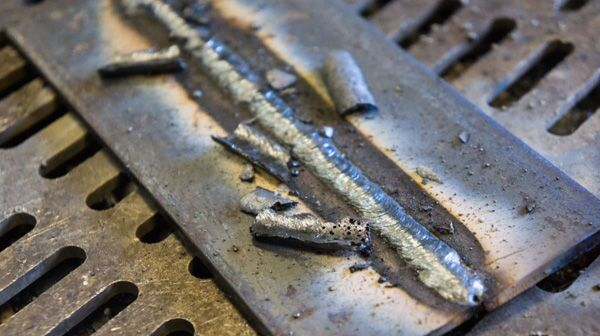 Остатки и огарки стальных сварочных электродов