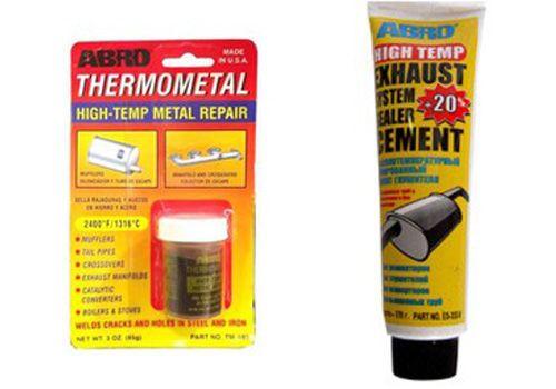 Высокотемпературная холодная сварка для металла