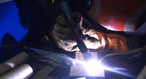 Сварка тонкой нержавеющей стали