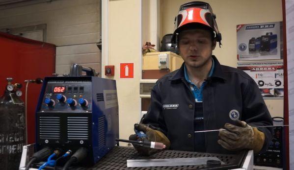 Настройка тока при сварке алюминиевых сплавов