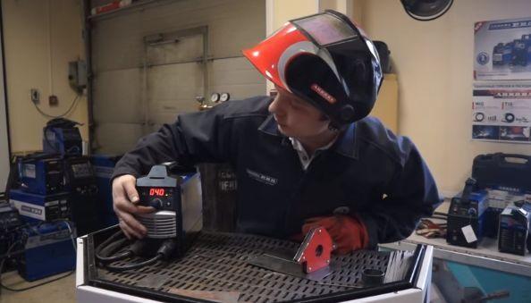 Настройка режима сварки тонкого металла