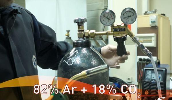 Выбор газа для сварки тонкого металла полуавтоматом
