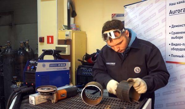 Подготовка металла перед сваркой