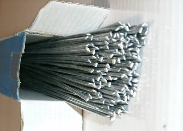 Припой для пайки алюминия с флюсом