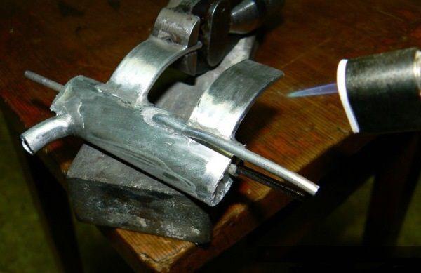 Технология пайки алюминия