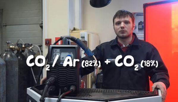 Выбор газовой среды для сварки полуавтоматом