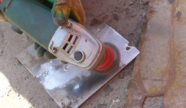 Зачистка алюминия для сварки инвертором