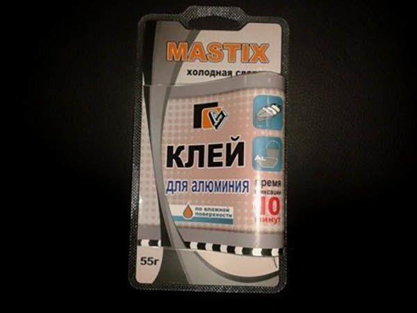 Холодная сварка Mastix для сварки алюминия