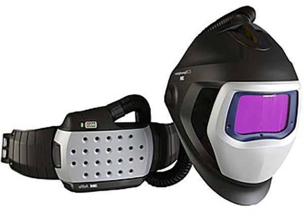 Сварочная маска с принудительной подачей воздуха