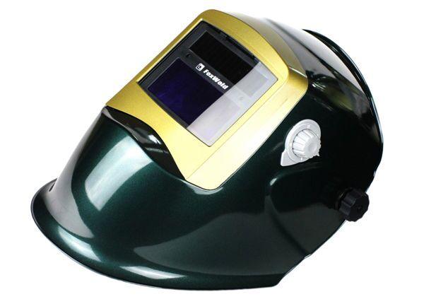 Маска сварочная Foxweld Корунд 2 зеленого цвета