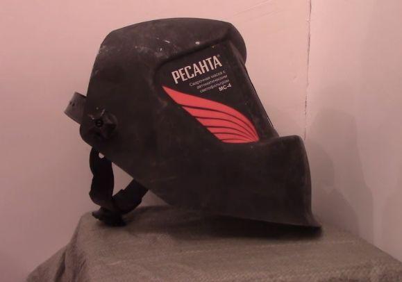 Боковая часть маски сварочной Ресанта МС-4