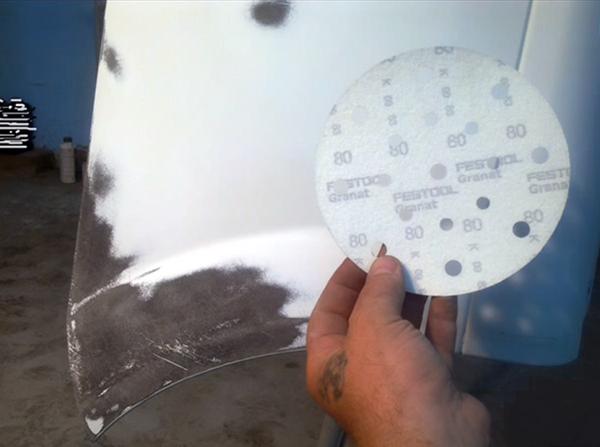 Подготовка поверхности для холодной сварки пластика