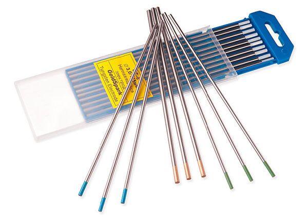 Вольфрамовые электрода для аргонодуговой сварки