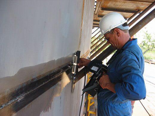 Контроль сварки швов газопровода