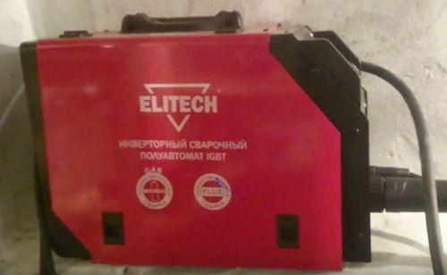 Сварочный полуавтомат Elitech ИС 220П