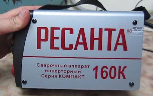 Сварочный инвертор Ресанта САИ160К