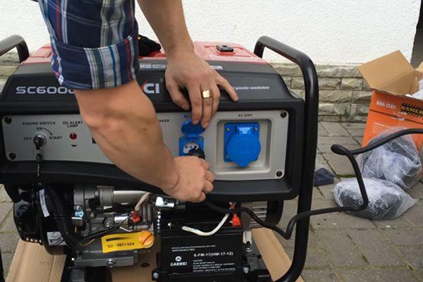 Подключение сварочного аппарата к генератору 220 В