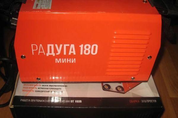 Сварочный аппарат Радуга 180 мини