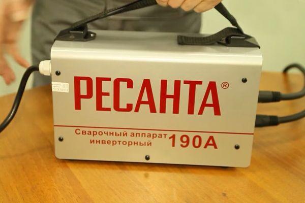 Сварочный аппарат Ресанта 190