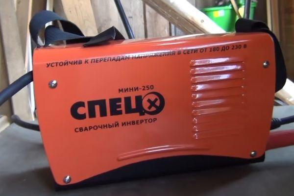 Мини сварочный аппарат для дома спец мини 250
