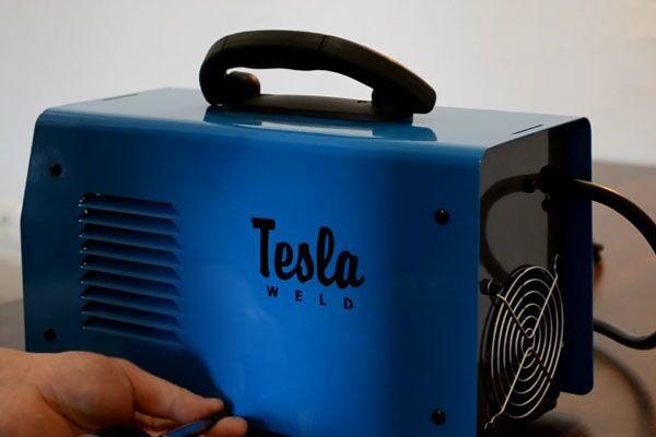 Внешний вид сварочного аппарата Тесла