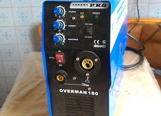Инверторный сварочный полуавтомат Aurorapro Overman 180