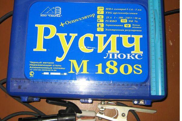 Сварочный аппарат Русич 180