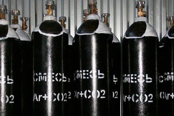 Газовая смесь в баллонах