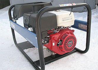 Сварочный генератор Honda на бензине