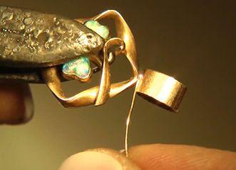 Сварка ювелирных изделий лазером