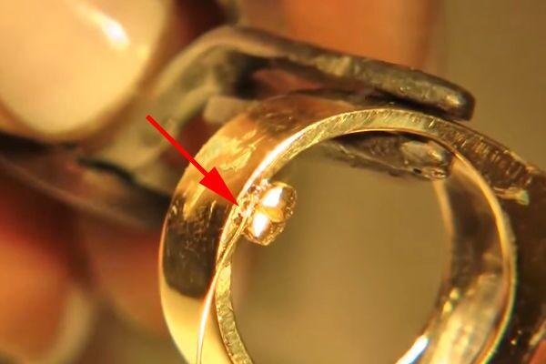 Лазерная сварка ювелирных изделий