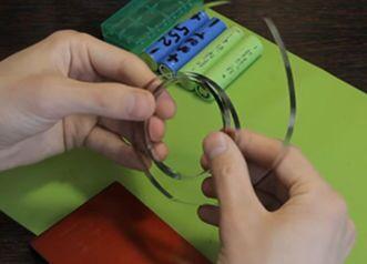 Использование никелевой ленты