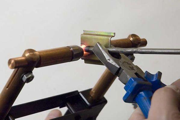 Пример применения точечной сварки