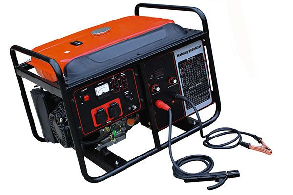 Бензиновый генератор для сварки