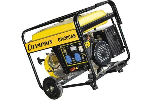 Сварочный генератор постоянного тока Champion GW200AE