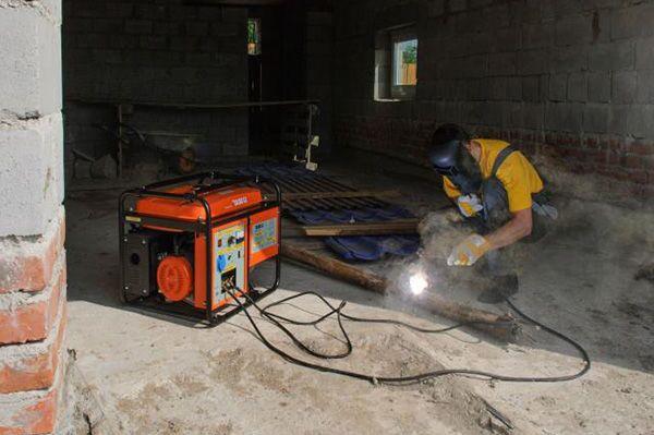 Дизельный генератор для сварки