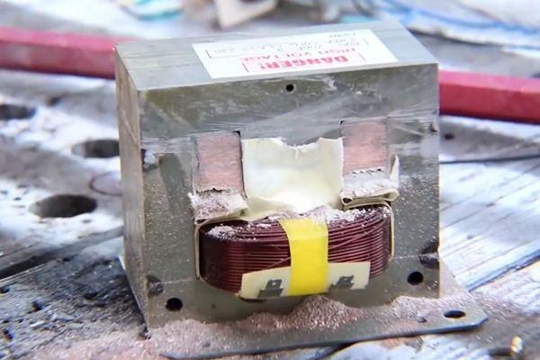 Сварочный трансформатор для точечной сварки