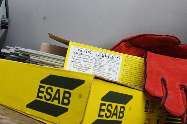 Электроды марки Esab