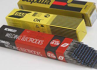 Типы электродов для ручной дуговой сварки