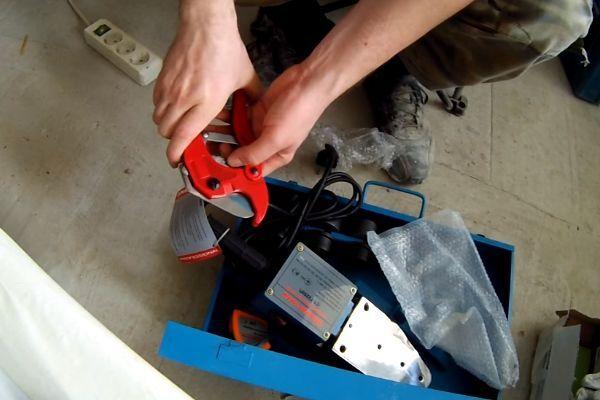 Основное оборудование для пайки ПП труб