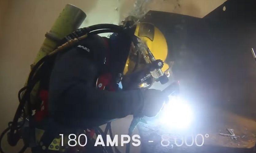 Дуговая подводная сварка