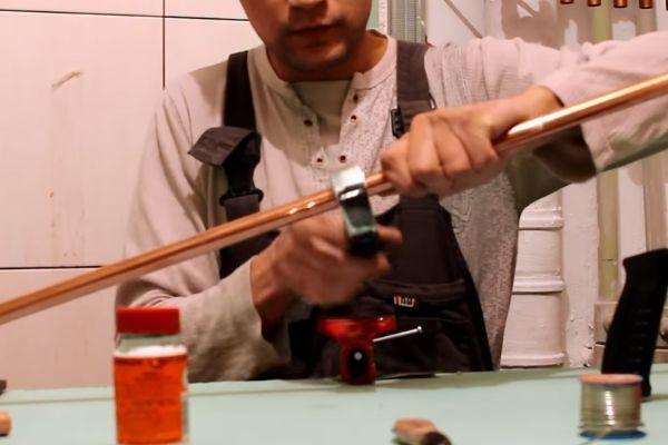 Использование труборезки