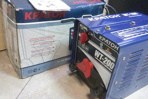 Сварочный аппарат Кратон WT-200