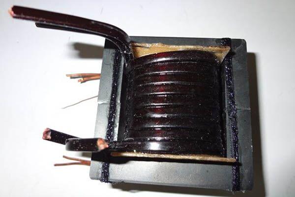 Переделанный трансформатор из инвертора