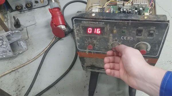 Работа со сварочным выпрямителем ВД-306