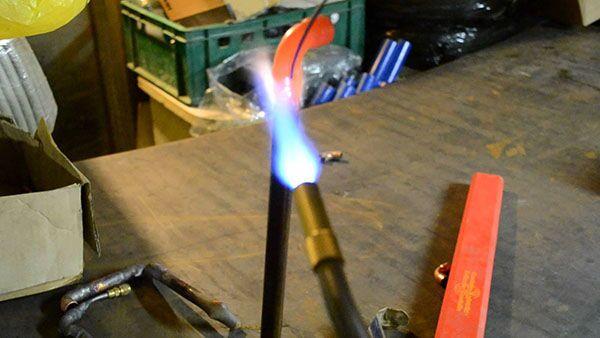 МАФ для пайки алюминия припоем hts 2000