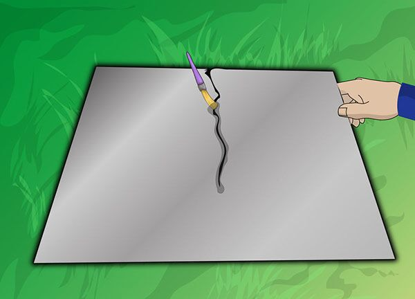 Нанесение флюса при пайке алюминия
