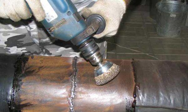 Очистка металла после сварки