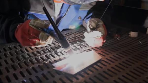 Сварка алюминия аргоном постоянным током